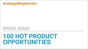 100 hot product opportunities