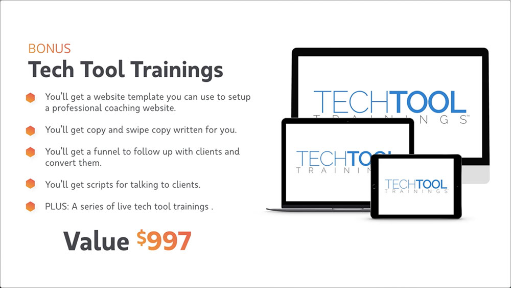 Virtual Coach Bonus #1 - Tech Tool Trainings