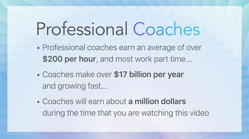 Can Life Coaches Make Money