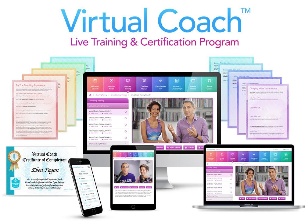 Virtual Coach Live Training Certification Program