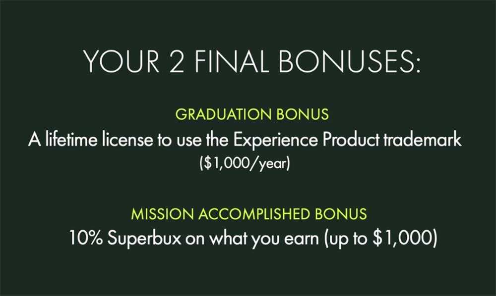 2 Final Bonuses