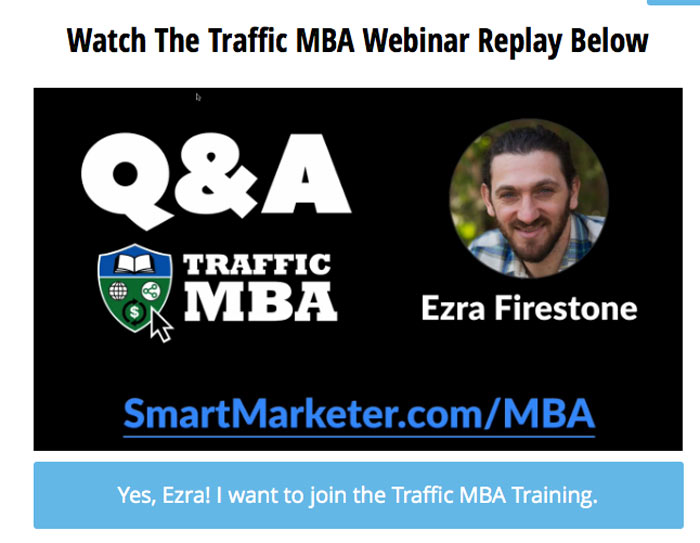 Traffic MBA