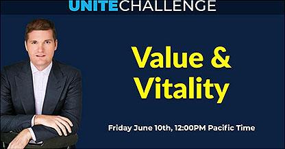 unite challenge value vitality