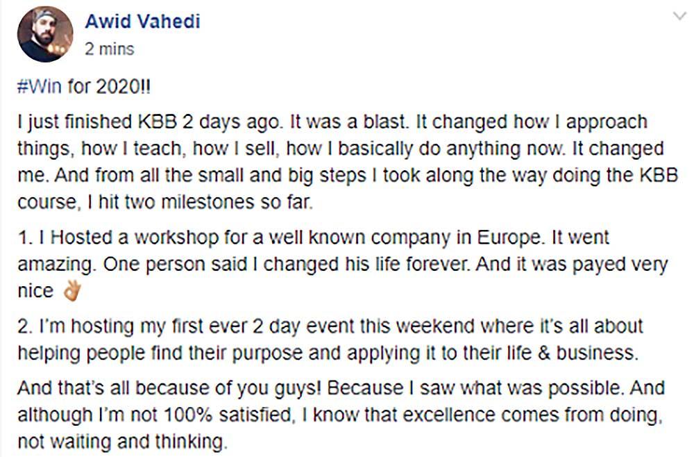 KBB Success Story