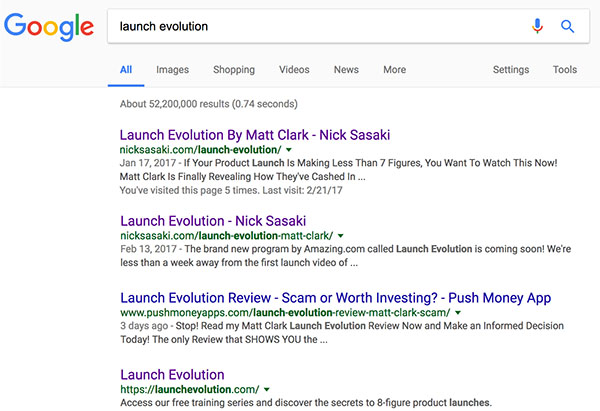 launch evolution bonuses