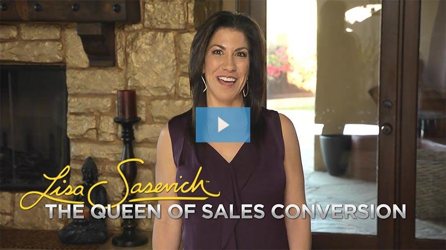 lisa sasevich speak to sell video