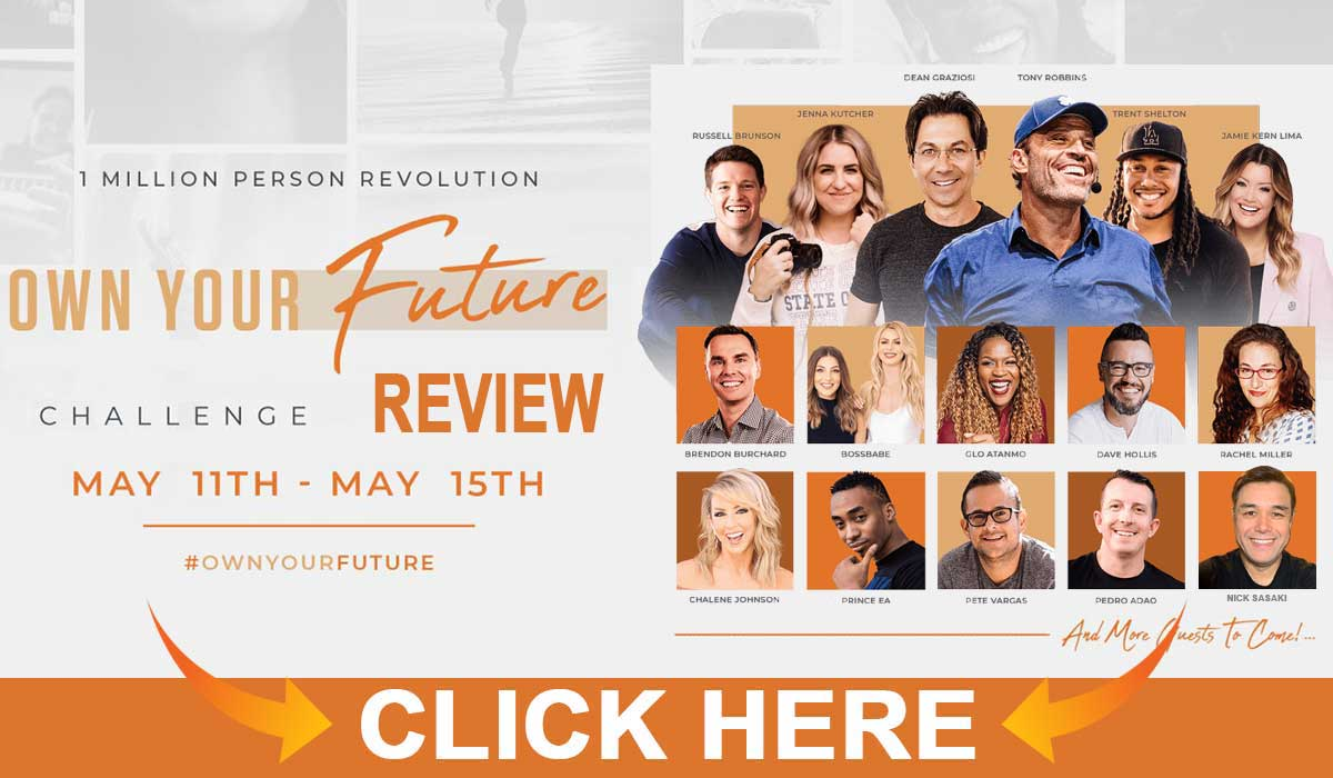 Own Your Future Challenge Reviews