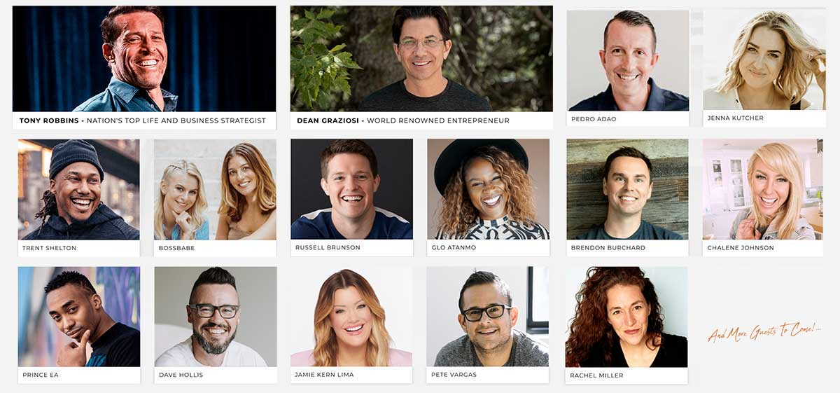Own Your Future Challenge Speakers