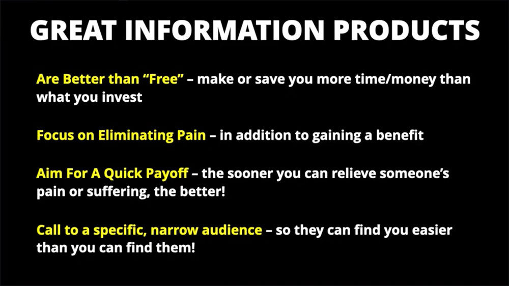 great information products