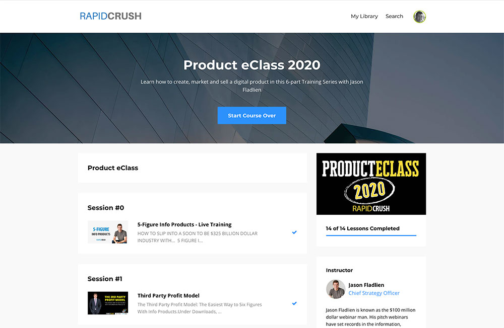 Product eClass Course