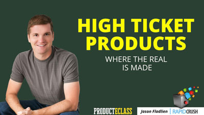 product eclass high ticket products