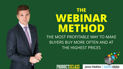 product eclass the webinar method