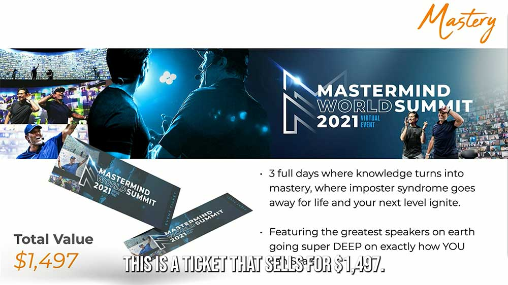 Project Next Mastermind World Summit 2021