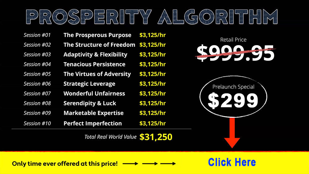 Prosperity Algorithm Price