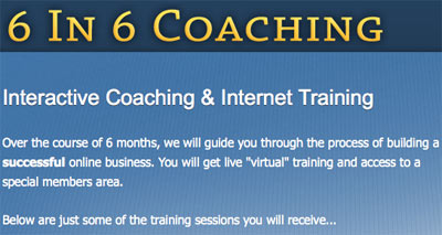 Jason Fladlien 6-in-6-Coaching Program