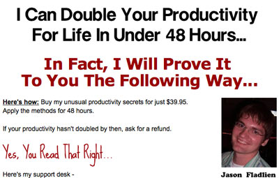 Jason Fladlien Double Your Productivity For Life