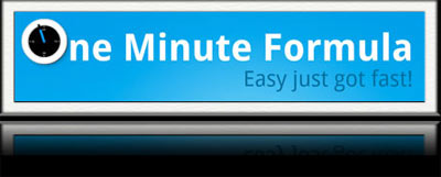 Jason Fladlien One Minute Formula