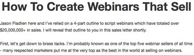 Jason Pure Webinars