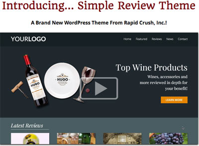 Jason Fladlien Theme Simple Review
