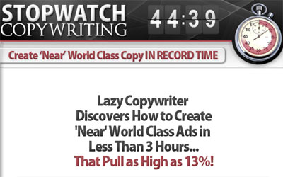 Jason Fladlien Stopwatch Copywriting