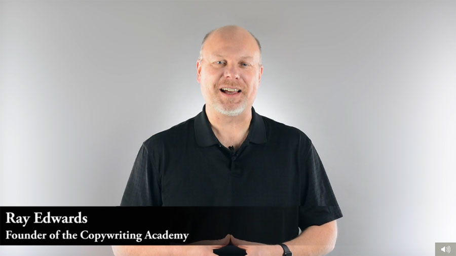 Copywriting Academy Ray Edwards 2016