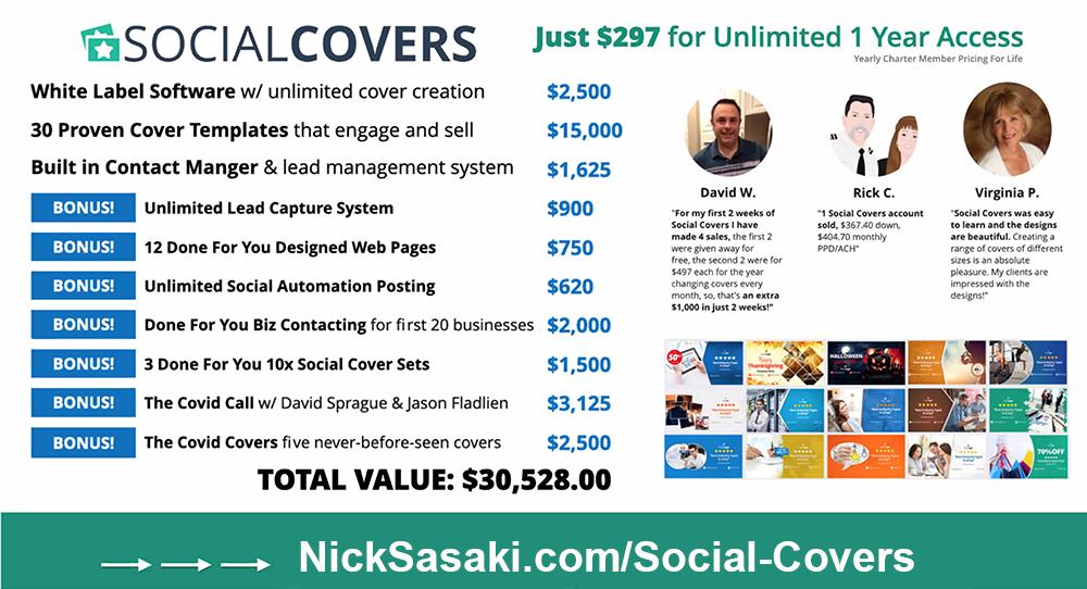 Jason Fladlien Social Covers Bonuses