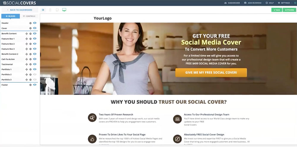 social covers website