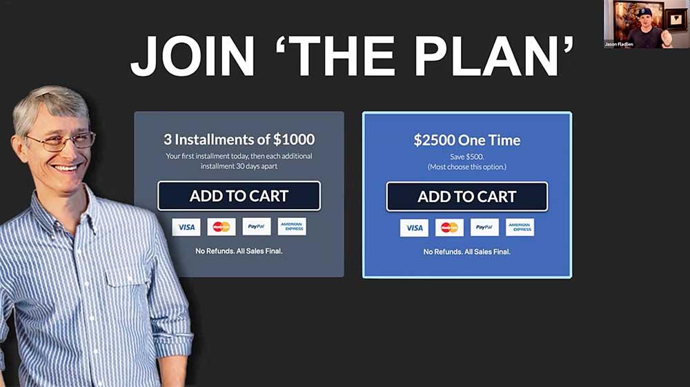 The Plan Price Tag