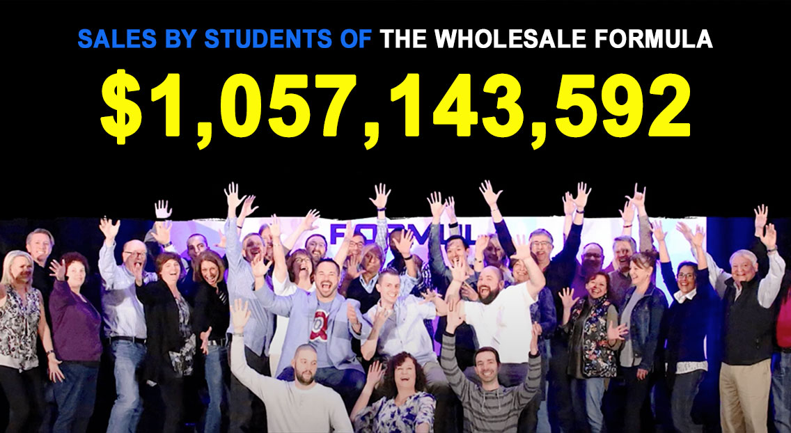 The Wholesale Formula Results
