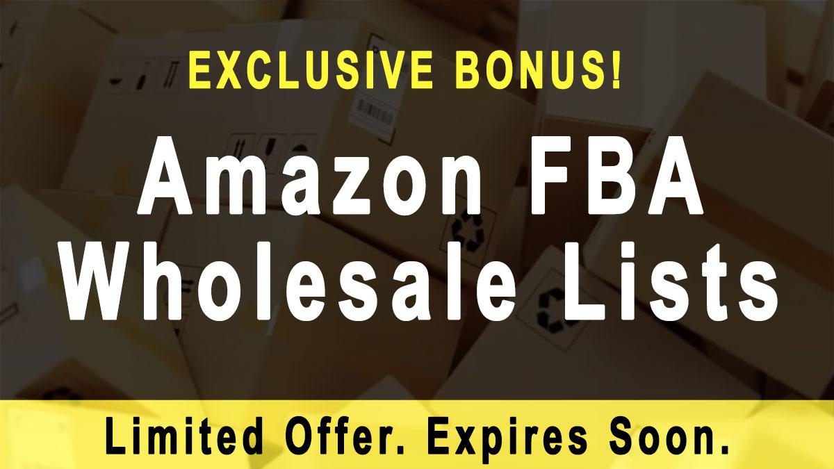Amazon FBA Wholesale Lists