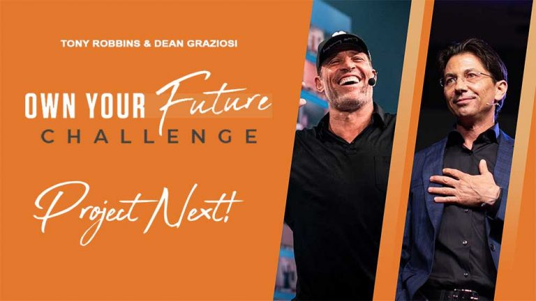 Own Your Future Challenge & Project Next Review